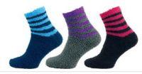 Ponožky NOVIA peříčko fialová
