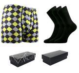 Ponožky LONKA Dypak černá 3 páry + boxerky LONKA Kevin modal D