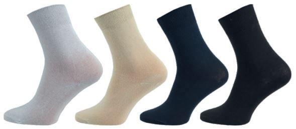 Dámské ponožky NOVIA Klasik 100% MIX 5 párů