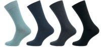 Ponožky NOVIA Klasik 100% bavlna šedá