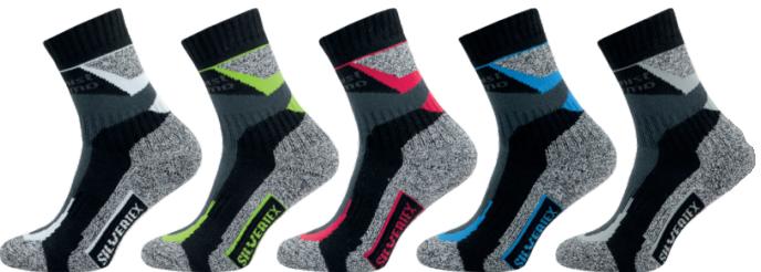 Ponožky NOVIA SILVERTEX Alpinning modro-černá