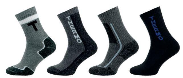 Ponožky NOVIA Thermo černá