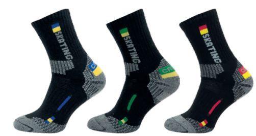 Ponožky NOVIA Thermo Skating modrá