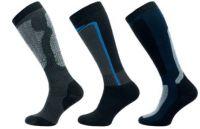 Sportovní podkolenky NOVIA Sport modro-černá