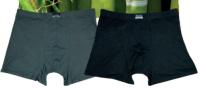 Pánské bambusové boxerky 02 NOVIA černá