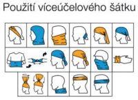 Multifunkční šátek NOVIA vzor 07