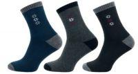 Ponožky NOVIA froté šedá