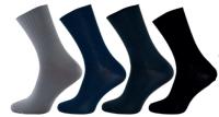 Ponožky NOVIA Lycra Diabet tmavě šedá