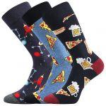 BAREVNÉ OBLEKOVÉ ponožky