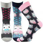 Dámské ponožky Boma Xantipa mix 56 - 3 páry