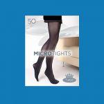 Dámské punčochové kalhoty Boma MICROtights 50DEN ibiza blue