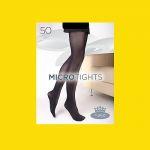 Dámské punčochové kalhoty Boma MICROtights 50DEN vibrant yellow