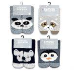 Žinylkové ponožky zvířátka - 2 páry