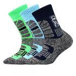 Dětské ponožky VoXX Traction dětská mix A - 3 páry