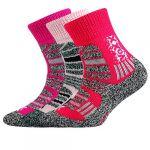 Dětské ponožky VoXX Traction dětská mix B - 3 páry