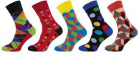 Ponožky NOVIA Happy socks A - 5 párů
