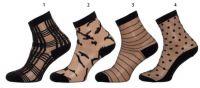 Dámské ponožky NOVIA S05 jemné