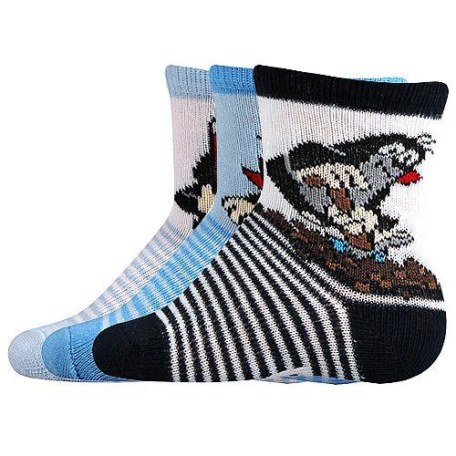 Dětské ponožky Boma Krteček mix A - 3 páry