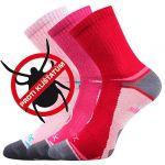 Dětské protiklíšťové ponožky VoXX Optifanik 03 mix B - 3 páry