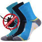 Dětské protiklíšťové ponožky VoXX Optifanik 03 mix A - 3 páry