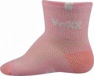 Kojenecké ponožky VoXX Fredíček růžová