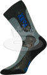 Ponožky VoXX Inpulse tmavě šedá