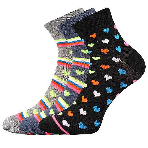 Dámské ponožky Boma Jana mix 52 - 3 páry