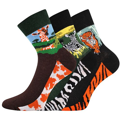 Dámské ponožky Boma Xantipa mix 58 - 3 páry
