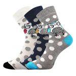 Dámské ponožky Boma Xantipa mix 60 - 3 páry