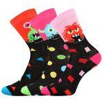 Dětské ponožky LONKA Ufonek mix A - 3 páry