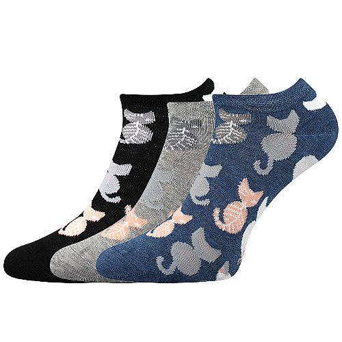Ponožky Boma Piki mix 54 - 3 páry