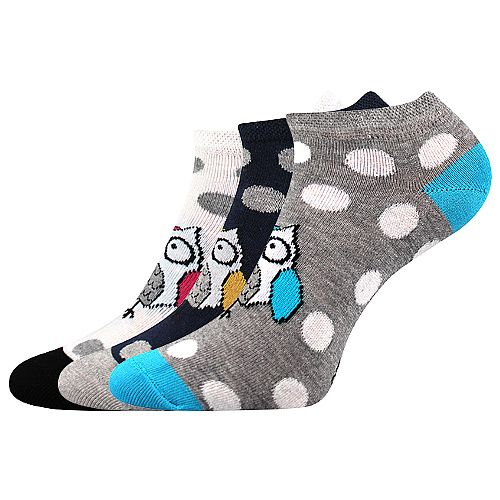 Ponožky Boma Piki mix 62 - 1 pár