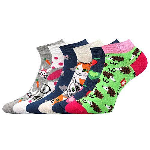 Ponožky LONKA Dabl mix G - 3 páry