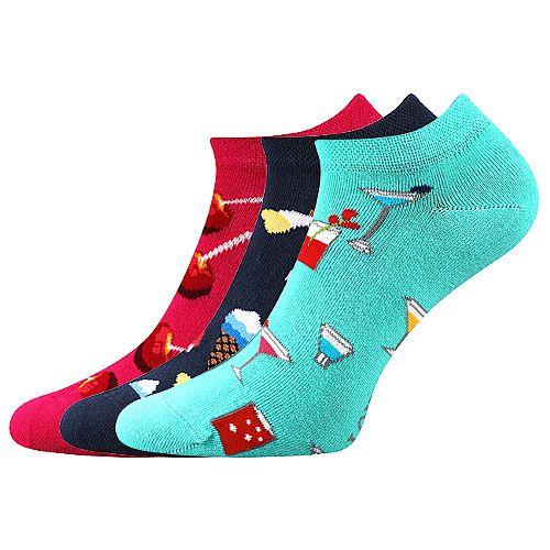 Ponožky LONKA Dedon mix B - 3 páry