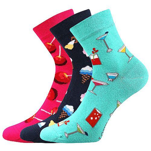 Ponožky LONKA Dedot mix B - 3 páry