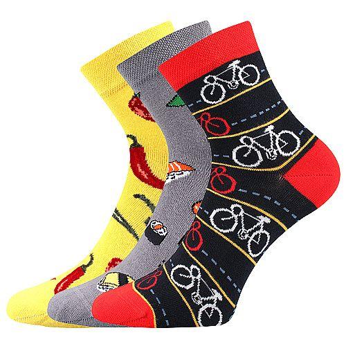 Ponožky LONKA Dedot mix C - 3 páry