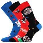 Ponožky LONKA Woodoo mix Y - 3 páry