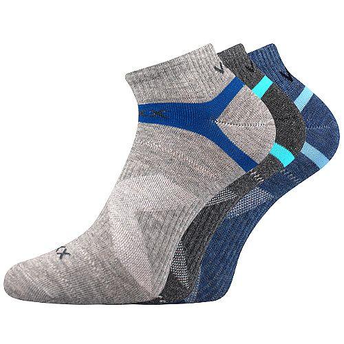 Ponožky sportovní VoXX Rex 14 mix A - 3 páry