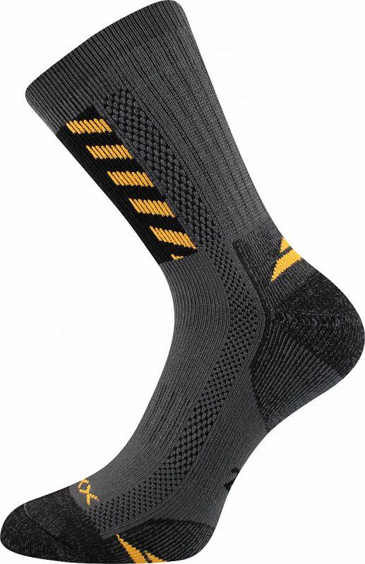 Ponožky VoXX Power work tmavě šedá