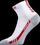 Ponožky VoXX Pius bílá (včetně nadměrných) - 3 páry