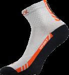 Ponožky VoXX Pius světle šedá (včetně nadměrných) - 3 páry