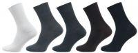 Zdravotní ponožky se stříbrem NOVIA MIX 5 párů