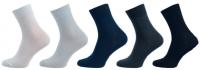 Ponožky NOVIA Bambus MIX 5 párů