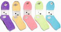 Žinylkové ponožky černá+barevná - 2 páry