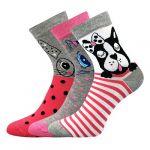Dámské ponožky Boma Xantipa mix 63 - 3 páry