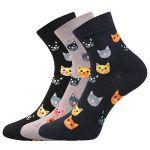 Dámské ponožky LONKA Felixa mix A - 3 páry