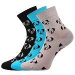 Dámské ponožky LONKA Felixa mix B - 3 páry