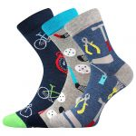 Dětské ponožky Boma 057-21-43 X mix A - 3 páry