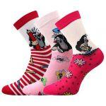 Dětské ponožky Boma Krtek mix 1 - 3 páry