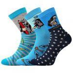 Dětské ponožky Boma Krtek mix 2 - 3 páry